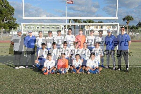 JV Boys Soccer 1-8-20