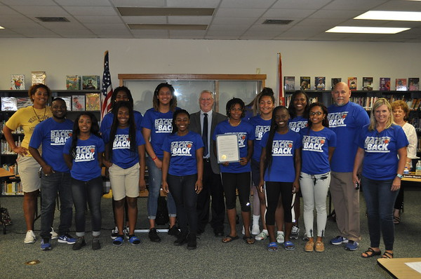 2018 - Resolution for Wildwood Middle High School Girls Basketball Team