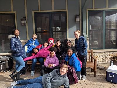 NJHS Ronald McDonald Visit January 2019