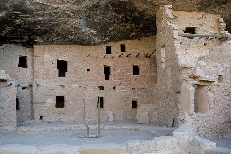 Spruce Tree House in Mesa Verde, Colorado