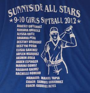 2012 9-10 Softball Sunnyside Thornydale