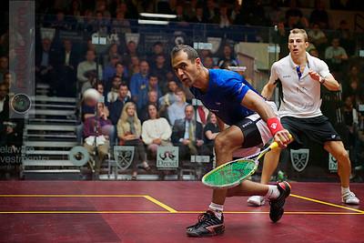 2012 U.S. Open Men's Quarterfinal: Nick Matthew (England) defeated Amr Shabana (Egpyt)