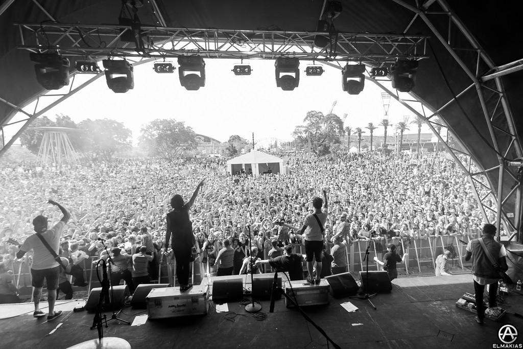 So many people - Soundwave Festival 2013
