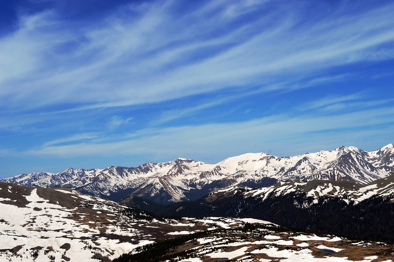 Never Summer Mountains, Rocky Mountain National Park, Colorado