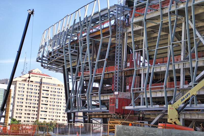 Kings Arena (Golden 1 Center) Construction