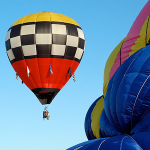 Balloon Launch - The Ranch, Loveland, CO 4/19/2008
