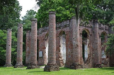 Old Sheldon Church (Near Beaufort, SC)