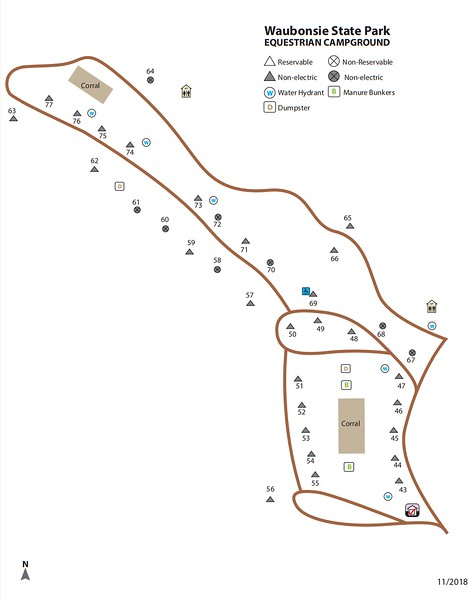 Waubonsie State Park (Equestrian Campground)