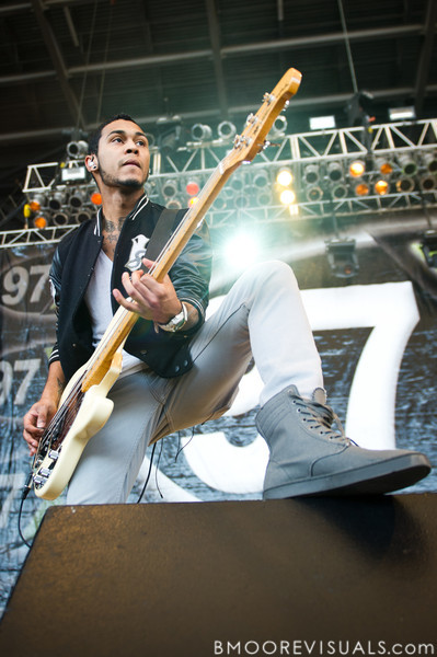 Daniel Santell of Paper Tongues performs in support of their self-titled debut on December 5, 2010 during 97X Next Big Thing at 1-800-ASK-GARY Amphitheatre in Tampa, Florida