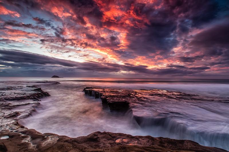 Fiery Sky, Muriwai