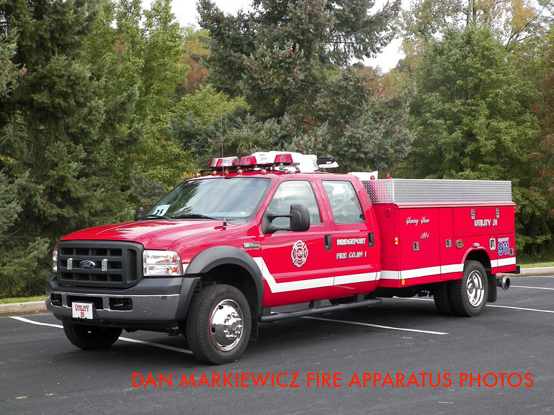 BRIDGEPORT FIRE CO. UTILITY 31 2008 FORD/ME UTILITY