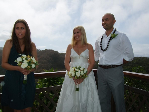 Maui Wedding Day
