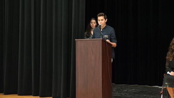 Student Leadership Ceremony - Stony Point High School 2018