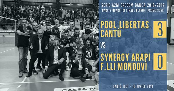 PO-4i-Gara 2: Pool Libertas Cantù - Synergy Arapi F.lli Mondovì