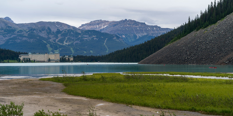 Lake Louise with Fairmont Chateau in the background, Improvement District 9, Banff National Park, Jasper, Alberta, Canada