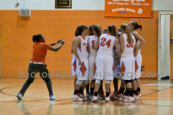 Cypress Creek @ Boone High School Girls Varsity Basketball - 2010