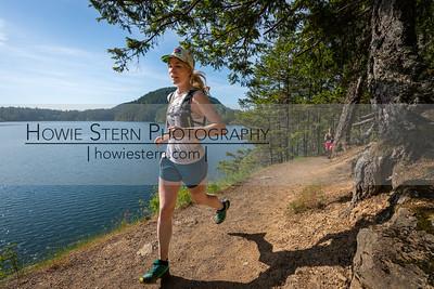 Cascade Lake Half Marathon Mile 1.5