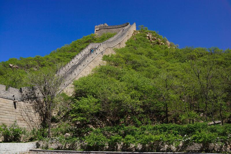 Great Wall of China near Badaling.