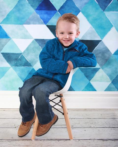 Gavin is 3!