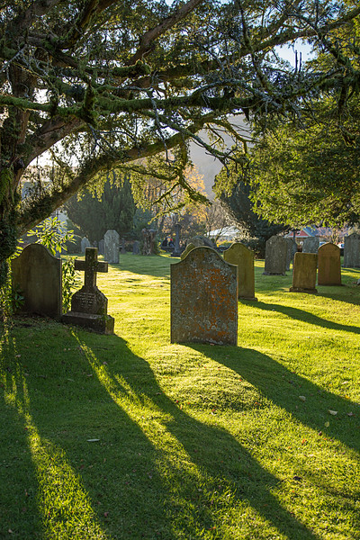 Graveyard At Grasmere Church