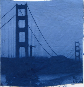 Cyanotype: Fabric