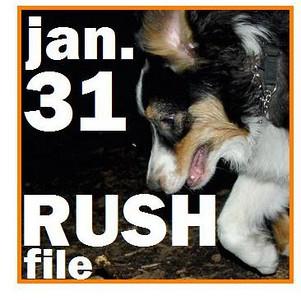 31 JAN. RUSH FILE