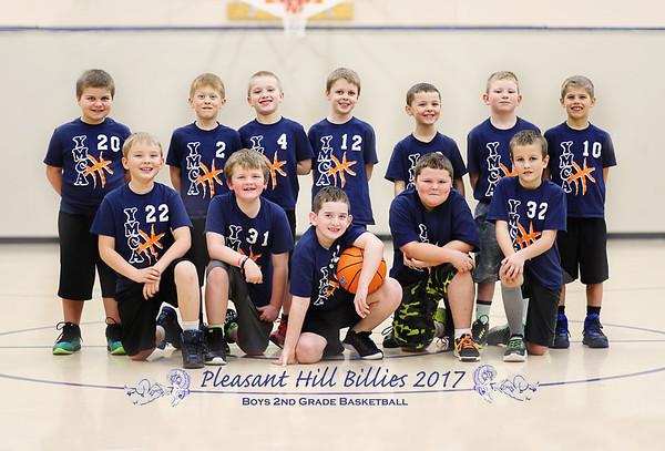 PH Billies Basketball 2nd grade