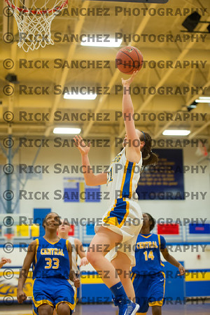 12-13-12 Girls Basketball Sandburg