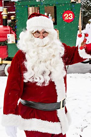 Santa in the Park 2013