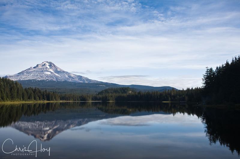 Mt. Hood as seen from Trillium Lake