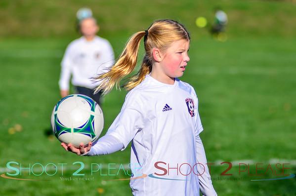 Nov 2 2014 - Girls U10 Travel Soccer