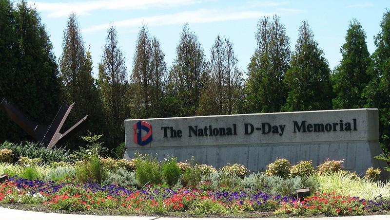 National D-Day Memorial Entrance