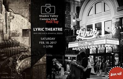 Lyric Theatre   2-18-17