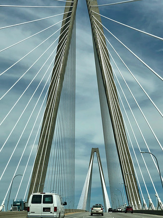SC, Ravenel Bridge, Charleston; May 2019