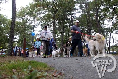 JOHNNY KELLY PARK — dogfest walk 'n roll — Dennis, MA 10 . 5 - 2013