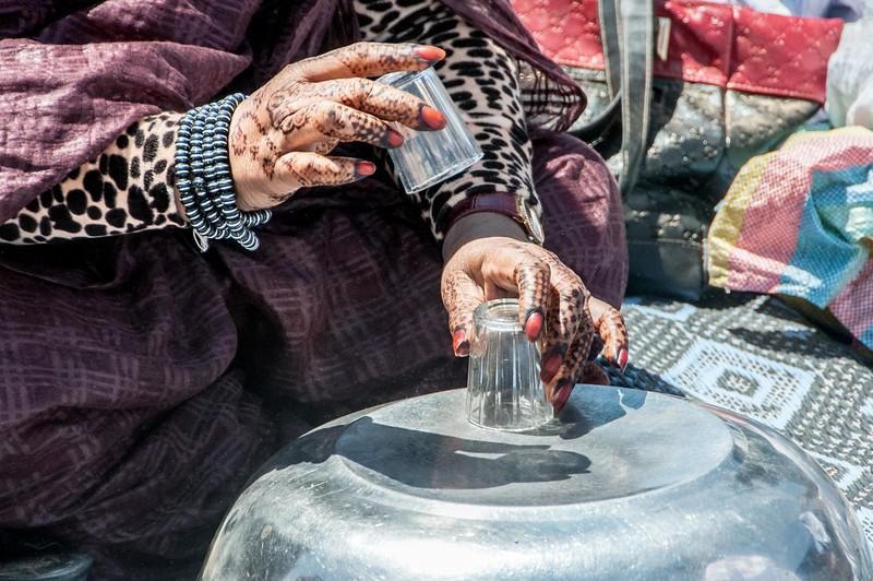 Moroccan performers in Dakhla, Western Sahara