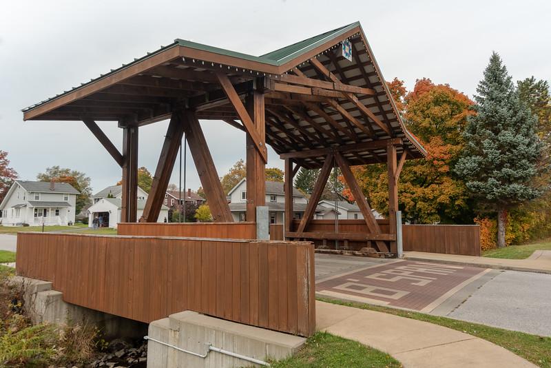 The West Liberty Bridge