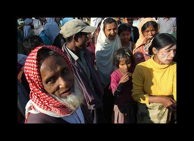 Mrauk, Myanmar-Burma - Islamic Market 2010