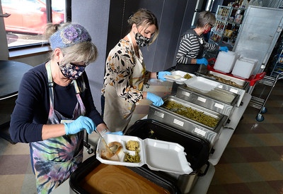 Photos: The OUR Center Gives Thanksgiving Meals