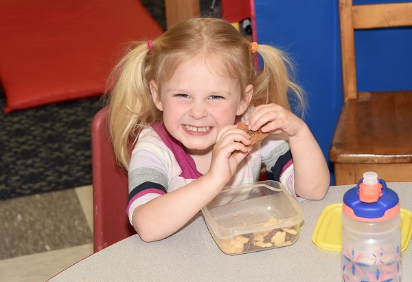 Snacking With Pre-K photos by Gary Baker