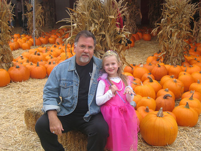 Pumpkin Patch with Dad