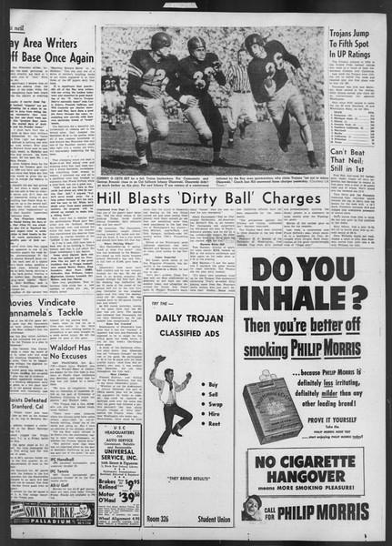 Daily Trojan, Vol. 43, No. 27, October 23, 1951