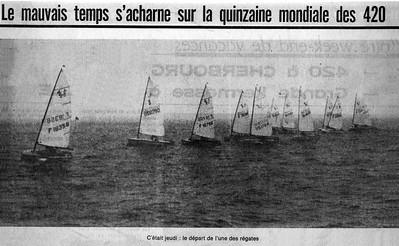 1971 420 World Championship - Cherbourg, France