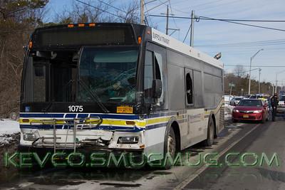 2/18/15 MVA Bus vs Pickup, Sills and Station Roads