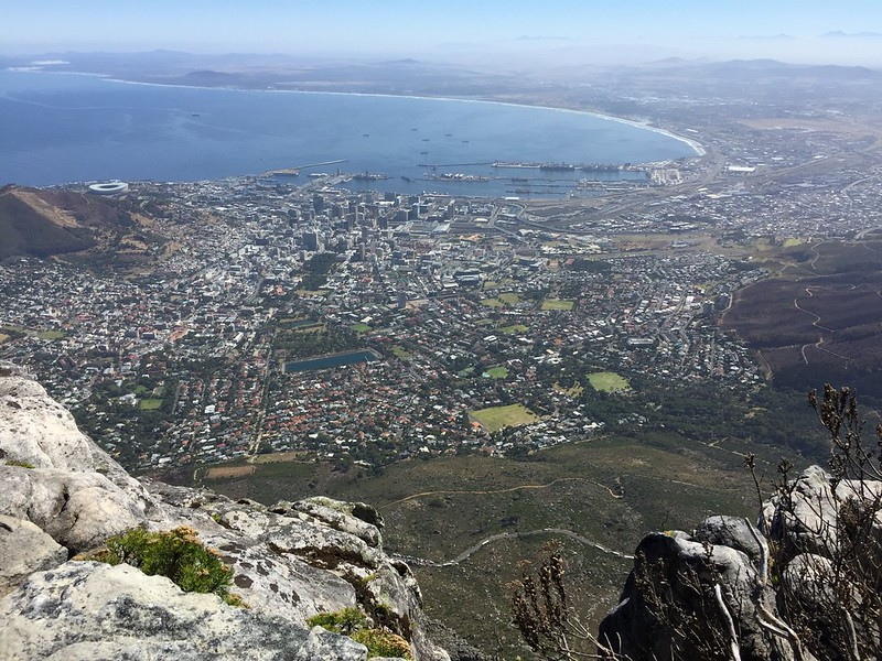 View from Table Mountain - Rob Williamson