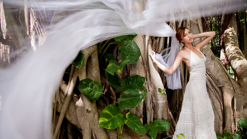 Beautiful Bridal Portrait Photography by Maui Photographer Matthew Nall.jpg