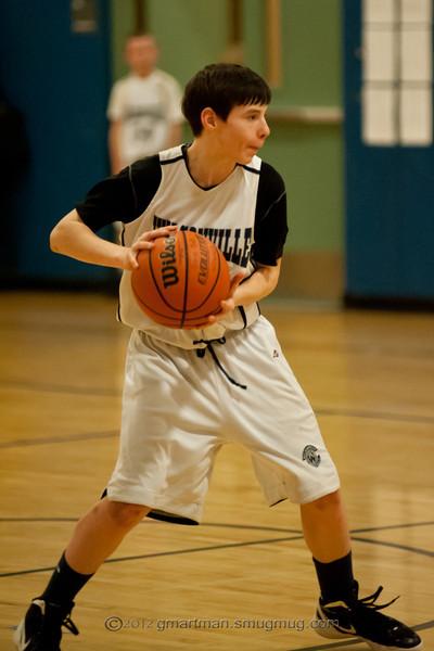 8th Grade Boys Basketball B Team vs. Lake Oswego
