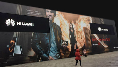Captured with the Huawei P8 - Larger than life