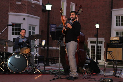 Jazz Trio visits DS 4 Oct 2014
