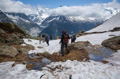 haute route of alps